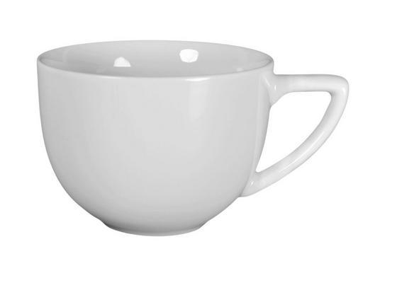 Kaffeetasse Marie + Maya - Weiß, ROMANTIK / LANDHAUS, Keramik (0,22cm) - James Wood