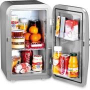 Minikühlschrank Frescolino Plus - Silberfarben, MODERN, Kunststoff (32/28,5/46cm)