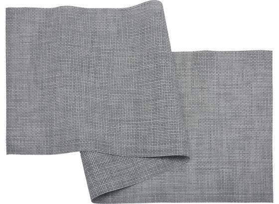 Ubrus 'běhoun' Na Stůl Stefan - šedá, umělá hmota (45/150cm) - Mömax modern living
