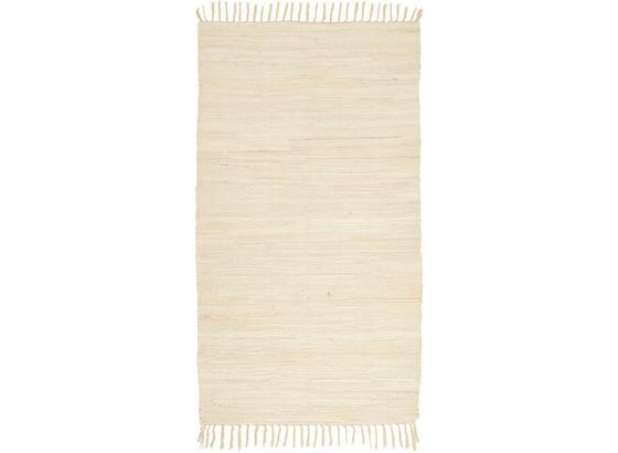 Plátaný Koberec Julia - krémová, Konvenčný, textil (70/130cm) - Mömax modern living