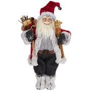 Weihnachtsmann Ruprecht - Multicolor, KONVENTIONELL, Naturmaterialien/Holz (45cm) - Ombra