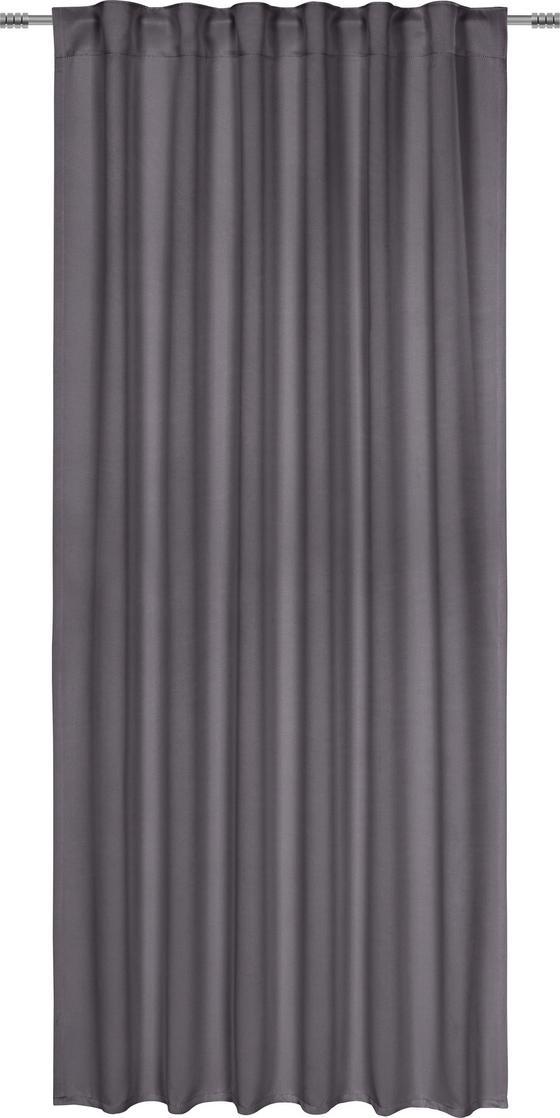 Zatemňovací Závěs Riccardo - antracitová, Moderní, textil (140/245cm) - Premium Living
