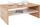 Couchtisch mit großer Ablage Cala Luna in San Remo Dekor - Eichefarben/Weiß, MODERN, Holzwerkstoff (100/40/59cm)