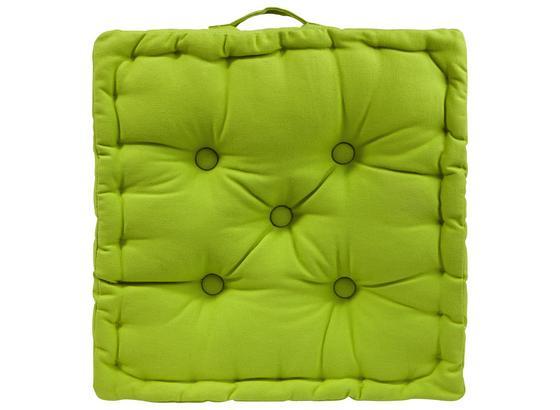 Polštář Ninix - zelená, textil (40/40/10cm) - Mömax modern living