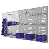 Werkzeugwand 34tlg 06601 - Blau/Grau, MODERN, Kunststoff/Metall (56/46/7,5cm)