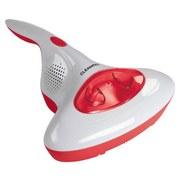 Akku-Milbensauger Cleanmaxx Rot/Weiß - Rot/Weiß, Basics, Kunststoff (34/28/12,5cm)