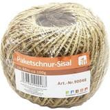Paketschnur Gezwirnt - Beige, KONVENTIONELL, Textil (60000cm)