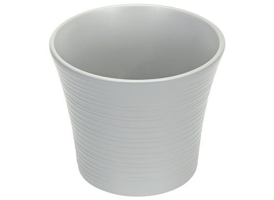 Übertopf Agneta - Perlmutt/Rosa, KONVENTIONELL, Keramik (12/10,2cm) - Luca Bessoni
