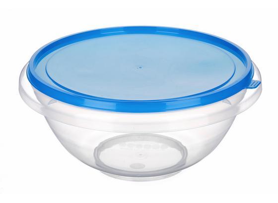 Schüssel 7 Liter - Blau/Transparent, KONVENTIONELL, Kunststoff (32/15.3cm)