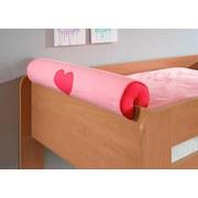 Nackenrolle Rosa/pink - Pink/Rosa, Design, Textil (80/16/16cm)