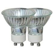 Halogen-Leuchtmittel 460 lm, Gu10, C, 2 Stück - Klar, KONVENTIONELL (5/5,5cm)