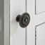 Komoda Nicolo - bílá/barvy dubu, Moderní, kov/dřevo (105/80/34cm) - Modern Living