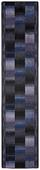Läufer Ikat - Anthrazit, Basics, Textil (67/300cm) - Ombra