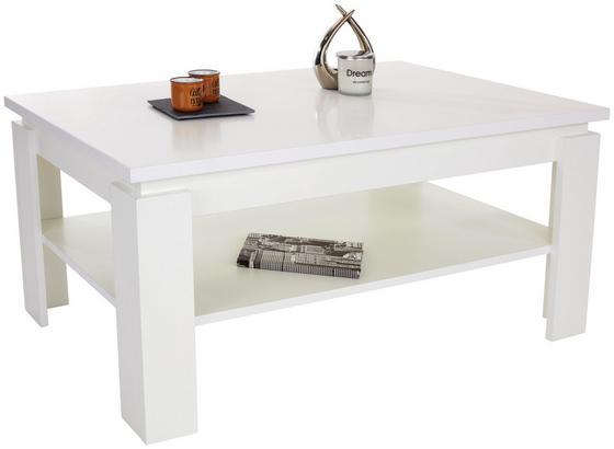Konferenčný Stolík Nizza 2 - biela, Moderný, kompozitné drevo (100/45/60cm)