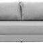 Bigsofa mit Bettfunktion und Bettkasten Garcia Webstoff - Chromfarben/Beige, MODERN, Holz/Textil (248/90/103cm) - Luca Bessoni