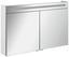 Spiegelschrank B.clever 120 cm Weiß - Weiß, MODERN, Glas/Holzwerkstoff (120/71/16cm) - Fackelmann