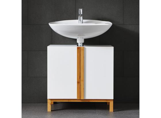 Spodná Skrinka Rico - prírodné farby/biela, Moderný, drevo (60/60/30cm) - Modern Living