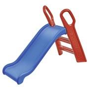 Kinderrutsche Kinderrutsche Big Baby Slide - Blau/Rot, Basics, Kunststoff (60/119/26cm)