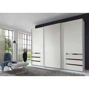 Schwebetürenschrank Level 36a 300 cm Weiß - Weiß, MODERN, Holzwerkstoff (300/216/65cm)
