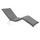 Liegenauflage Premium B: 205 cm Grau - Grau, Basics, Textil (205/8-9/67cm) - Ambia Garden