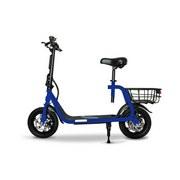 Elektroscooter E-Klappscooter Eks 66 Blau - Blau, Basics (123/59/95cm)