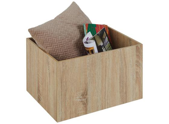 Úložný Box Bono -sb- - dub sonoma, Moderný, kompozitné drevo (44/28/33cm) - Modern Living