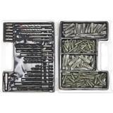 Kombikoffer 300-teilig - Silberfarben, KONVENTIONELL, Kunststoff/Metall