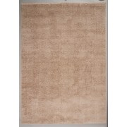 Hochflorteppich Nobel Micro 140/200 - Hellbraun, MODERN, Textil (140/200cm)