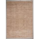 Hochflorteppich Nobel Micro 60/115 - Hellbraun, MODERN, Textil (60/115cm)