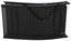 Lehátko S Úchytkou Jada - čierna, Moderný, kov/textil (49,5/20/177cm) - Modern Living