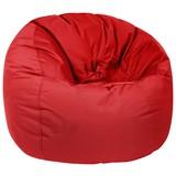 Outdoorsitzsack Donut B: 90 cm Rot - Rot, Basics, Kunststoff (90/75/90cm) - Ambia Garden