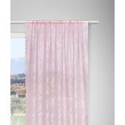 Záves Babette, 2 Ks - tmavoružová, Romantický / Vidiecky, textil (140/245cm) - Zandiara