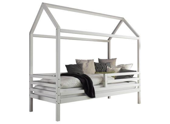 Spielbett Karlson 90x200 cm Weiß - Weiß, MODERN, Holz (90/200cm) - Livetastic