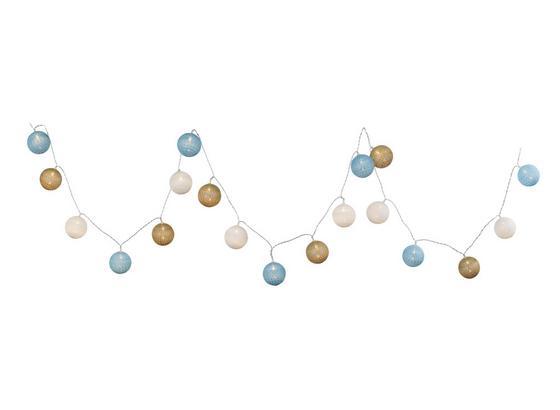 Svetelná Reťaz Schnurli Max. 0,06 Watt, 3,2m - viacfarebná, Romantický / Vidiecky, plast (6/320cm) - Mömax modern living