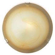 Deckenleuchte Gipsy - Braun, KONVENTIONELL, Glas/Metall (30/7cm) - OMBRA