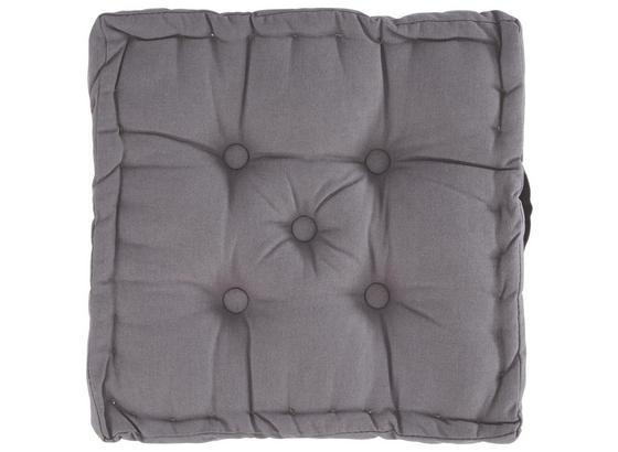 Polštář Ninix - šedá, textil (40/40/10cm) - Mömax modern living