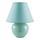 Stolní Svítidlo Irma - mátově zelená, Romantický / Rustikální, textil/keramika (18/25cm) - Mömax modern living