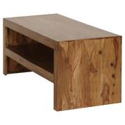 Couchtisch Mumbai L: ca. 110 cm - Sheeshamfarben, Design, Holz (110/45/45cm) - Livetastic