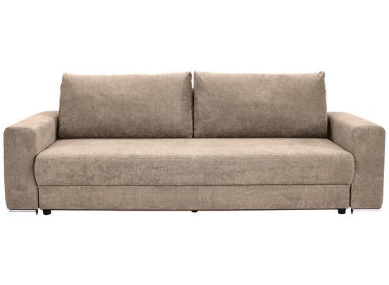 Veľká Pohovka Garcia - béžová, Moderný, drevo/textil (248/90/103cm) - Luca Bessoni