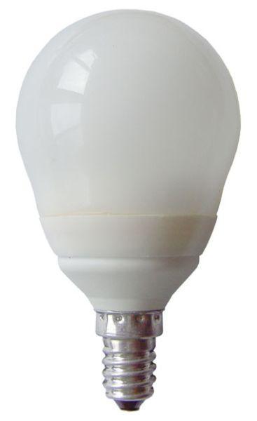 Energiespar-Leuchtmittel 600 lm, E14, A - Weiß, KONVENTIONELL (5,8/10,3cm)