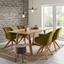 Židle S Područkami Chill - barvy dubu/zelená, dřevo/textil (60/83/65cm) - Modern Living