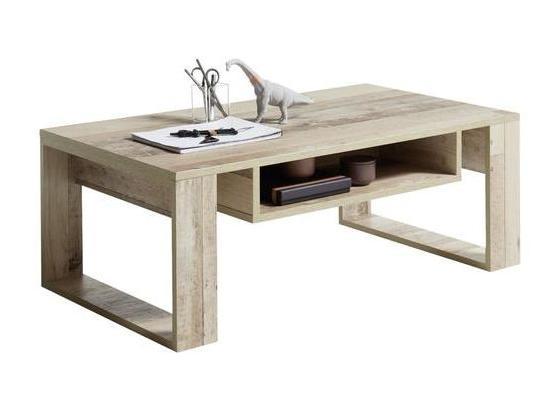 Couchtisch Holz mit Ablagefach Loris, Braun - Braun, Natur, Holzwerkstoff (108/60/39,5cm) - Carryhome