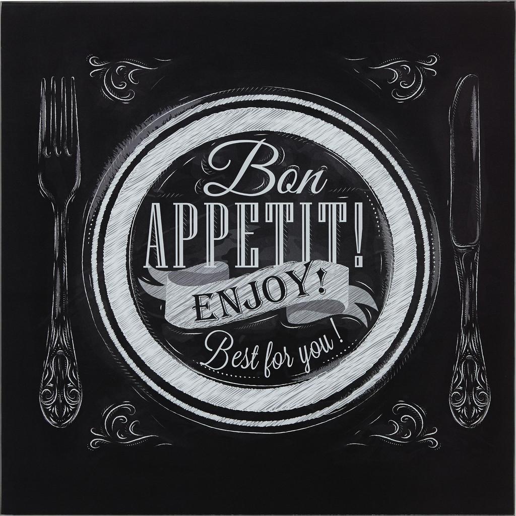 Obraz skleněný Bon Appetit