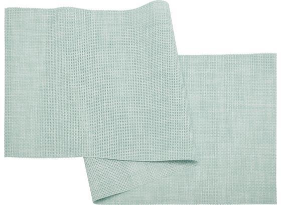 Ubrus 'běhoun' Na Stůl Stefan - mátově zelená, umělá hmota (45/150cm) - Mömax modern living