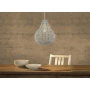 Hängeleuchte Nicole - Grau, Basics, Textil (35/120cm) - James Wood
