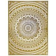 Obraz S Klínovým Rámom Denise - zlatá, drevo (104/144/4,3cm) - Modern Living