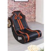 Gamingstuhl Ninja B: 56 cm Schwarz/orange - Schwarz/Orange, Design, Textil (56/100/82cm) - Carryhome
