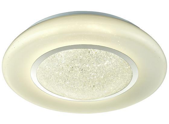 Led Stropná Lampa Leana Ø 41cm, 24 Watt - biela, Moderný, kov/plast (41/11,5cm) - Mömax modern living