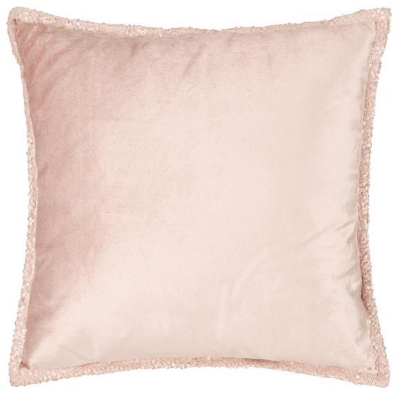Polštář Ozdobný Janet - růžová, Lifestyle, textil (45/45cm) - Premium Living