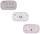 Aufbewahrungsbox Lama - Pink/Weiß, Design, Kunststoff/Metall (8.5/4.5/3cm)